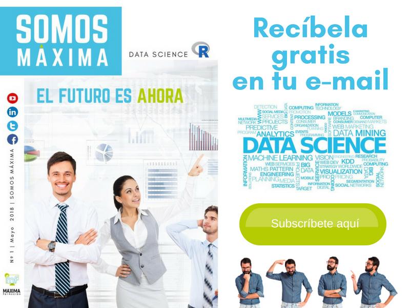 Suscripción a MÁXIMA FORMACIÓN DATA SCIENCE